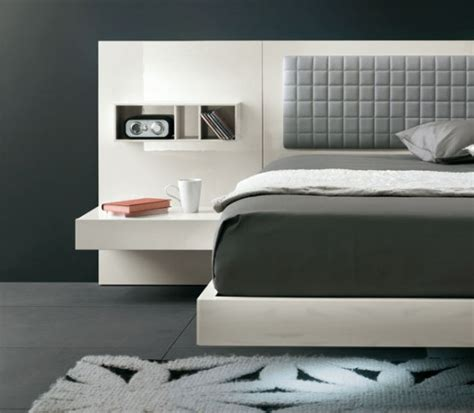 futuristic bedroom set  suspended bed aladino