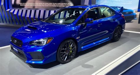 New Subaru Wrx Sti 2018 by The 2018 Subaru Wrx Sti Is Thankfully More Of The Same