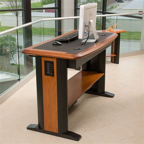 wood standing desk standing computer desk caretta workspace