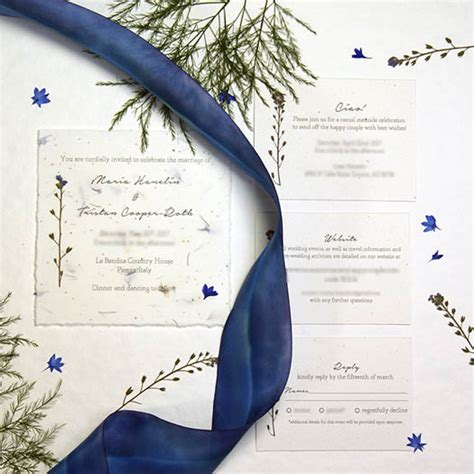 Wedding Invitations Companies by 3 Custom Eco Friendly Wedding Invitation Companies Tara