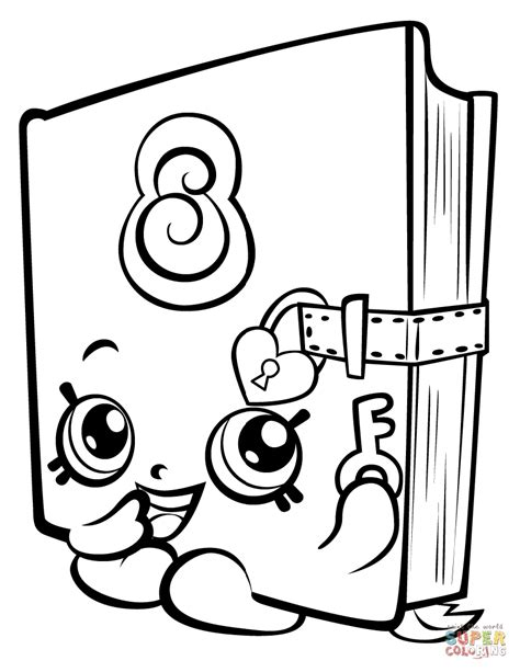 Shopkins Season 8 Coloring Pages by Coloring Pages For Shopkins Season 3 8