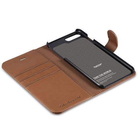tucch iphone 7 plus wallet iphone 8 plus premium pu leather with card slot