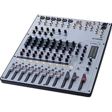 Mixer Yamaha 12 Channel Bekas yamaha mw12cx 12 channel usb mixer mw12cx b h photo