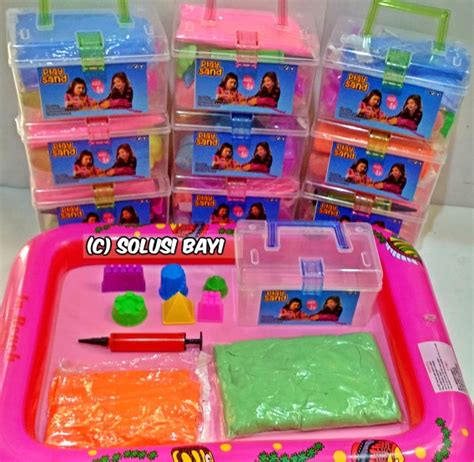 Mainan Edukatif Pasir Ajaib Magic Sand Kinetic Sand Truck Model home pasir kinetik kinetic sand