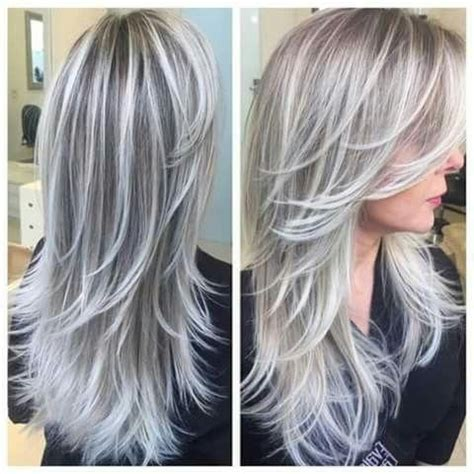 the 25 best gray hairstyles ideas on pinterest grey photo gallery of long hairstyles grey hair viewing 14 of