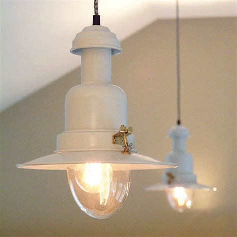 vintage style pendant lights vintage fisherman style ceiling light by country lighting