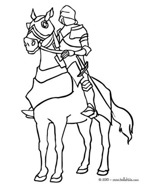 coloring page of knight in armor one knight in armor coloring pages hellokids com