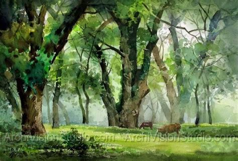 best 25 acrylic landscape painting ideas on