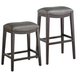 Bar Stools Pier One Halsted Backless Bar Counter Stools Pewter Pier 1