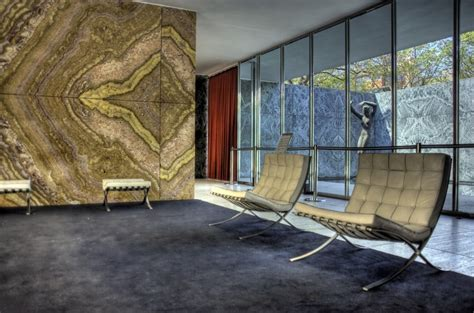 Barcelona Chair Interior by Barcelona Pavillion Interior By Mies Der Rohe