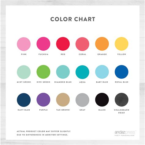 color selection color chart for kids www pixshark com images galleries with a bite