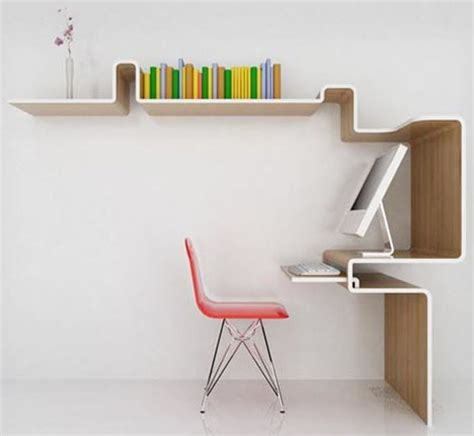 Space Saving Furniture Home Office Desk Storage Idea Space Saving Office Desk