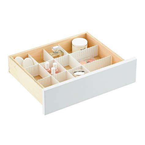 interlocking drawer organizer set slotted interlocking drawer organizers the container