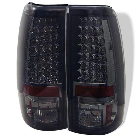 chevy silverado led tail lights 03 06 chevy silverado sierra led tail lights smoke 111