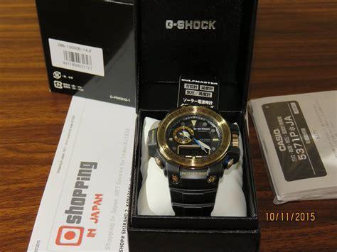 G Shock Gwn1000 Black Gold live photos g shock gulfmaster gwn 1000gb 1a black and gold