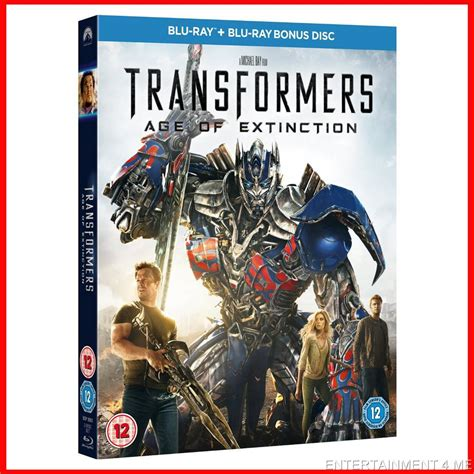 Bluray Original Brand New Sealed Transformers Transformers Age Of Extinction Brand New