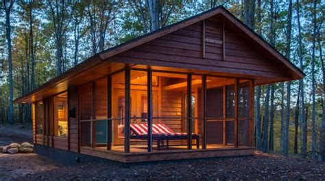 Permanent Cabins For Sale more than just an rv escape injects some style into the tiny house movement