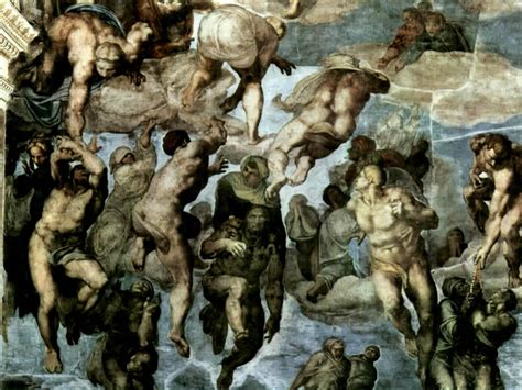 tribute to fine arts michelangelo fashion painting wallpaper with