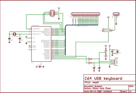 diodes and resistors keyboard difficulties replicating c64 usb objective development forums