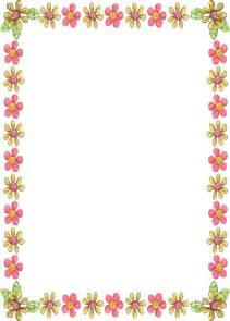 simple beautiful borders for projects on paper free