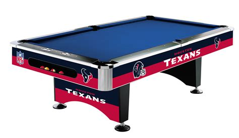 table felt houston texans pool table