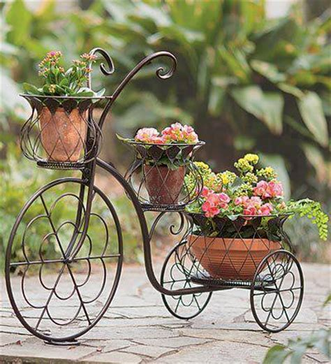 unique outdoor planters display your plants in a unique way with bicycle planters