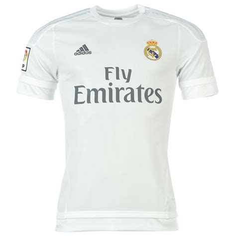 Jersey Murah Prematch Real Madrid White 2016 adidas real madrid home shirt 2015 2016 white ebay