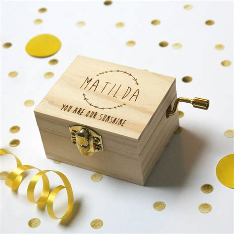 Wedding Card Box Not On The High by Personalised Box By Modo Creative