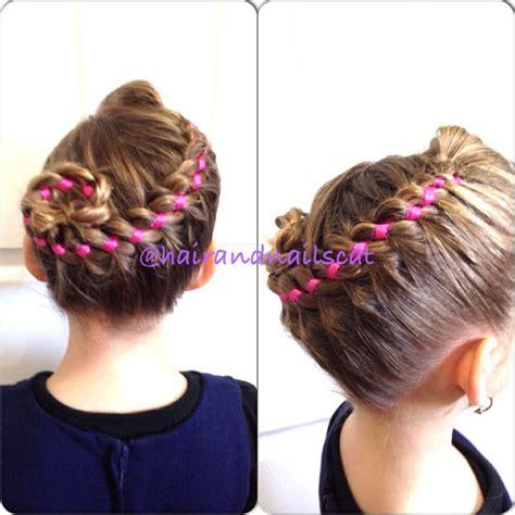 who braids christina johnson hair four strand ribbon french braid hairandnailscat pinterest