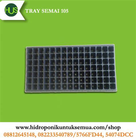 Tray Semai 105 Lubang jual alat hidroponik jual alat bahan media hidroponik