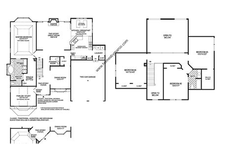 floor plans princeton princeton model in the the woods of south barrington