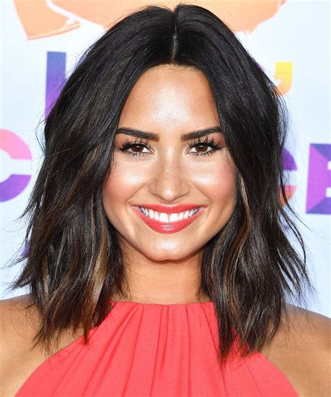 demi bob hairstyles demi lovato just chopped off all her hair