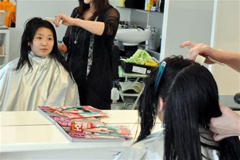 beauty salon perm stories today sakura s order is the digital perm the first step