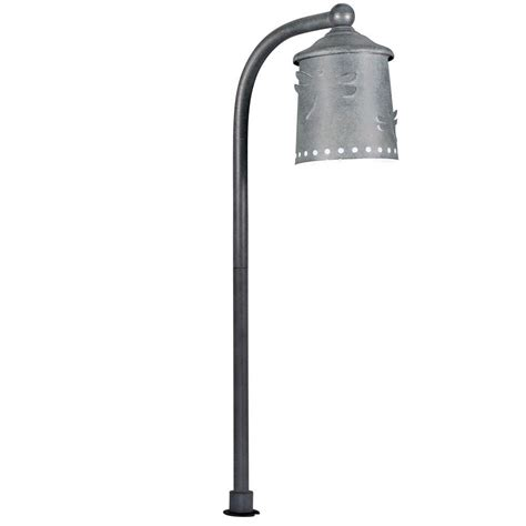integrated led outdoor lighting hton bay low voltage led black mission outdoor path