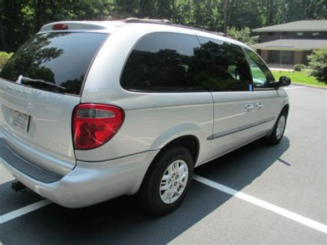 buy used 2001 dodge grand caravan sport handicap wheel chair lift accessible disability in