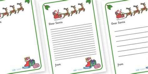 letter to santa template twinkl 125 best images about winter on pinterest display