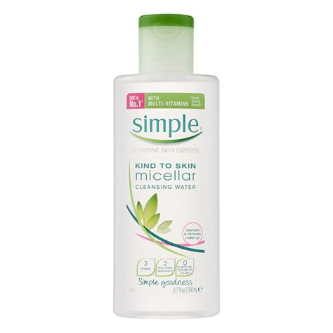 Detox Easy 123 by Buy Micellar Cleansing Water 200 Ml By Simple