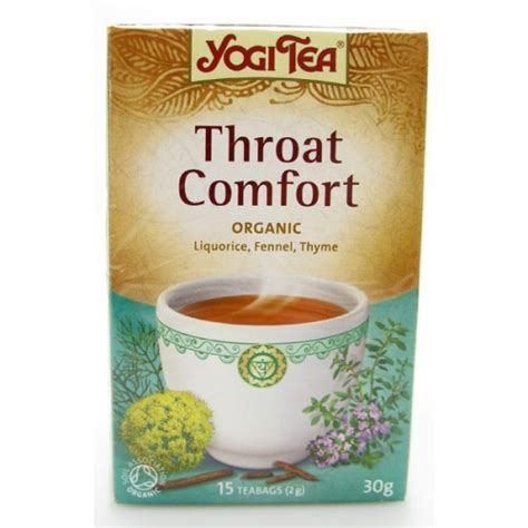yogi throat comfort yogi tea throat comfort