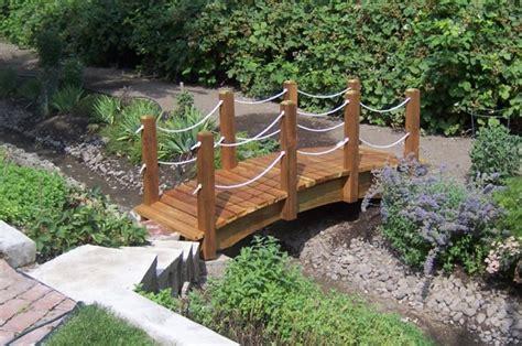 how to build a wooden bridge 21 brilliant wooden garden bridges that could fill the