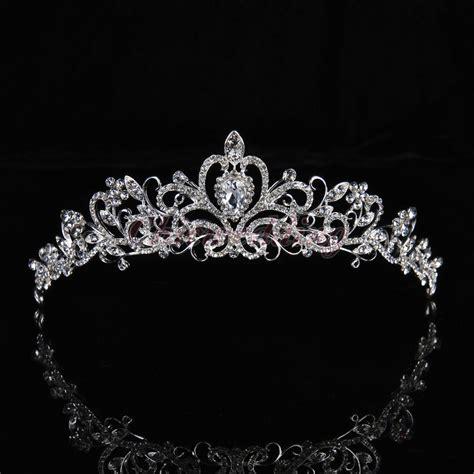braut krone details zu neu kristall prinzessin braut diademe hochzeit