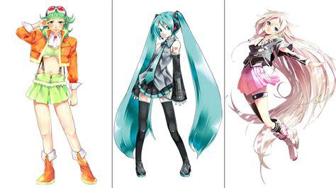 Poster Vocaloid Character Hatsune Miku Greatest Idol vocaloid singers the coolest character designs kotaku australia