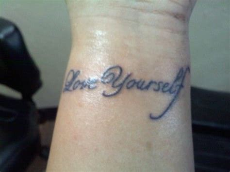tattoo meaning love yourself 26 best meaningful tattoos images on pinterest