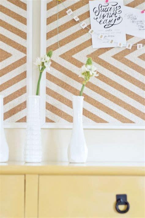 kork pinnwand streichen pinnwand selber machen wandgestaltung basteln ideen