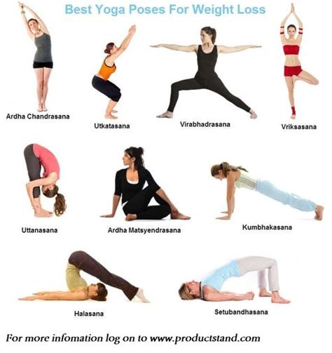 printable yoga poses for weight loss best yoga poses for weight loss