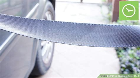 cleaning seat belts 3 ways to clean a seat belt wikihow
