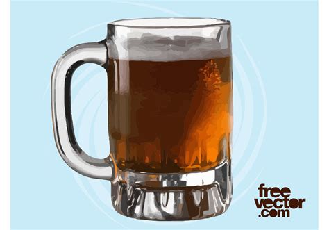 beer vector mug of beer vector download free vector art stock