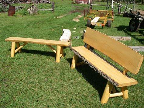 log bench press roundwood log furniture roundwood and timber framing