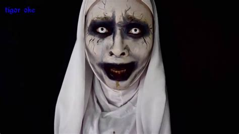 tutorial makeup hantu makeup hantu valak saubhaya makeup