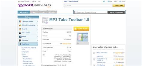 download mp3 from browser how to remove the mp3 tube toolbar virus and repair