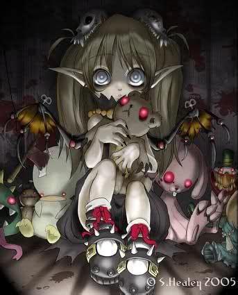 scary evil anime girls demon animals tags anime evil little girl demon stuffed